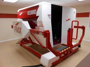 Redbird full-motion simulator